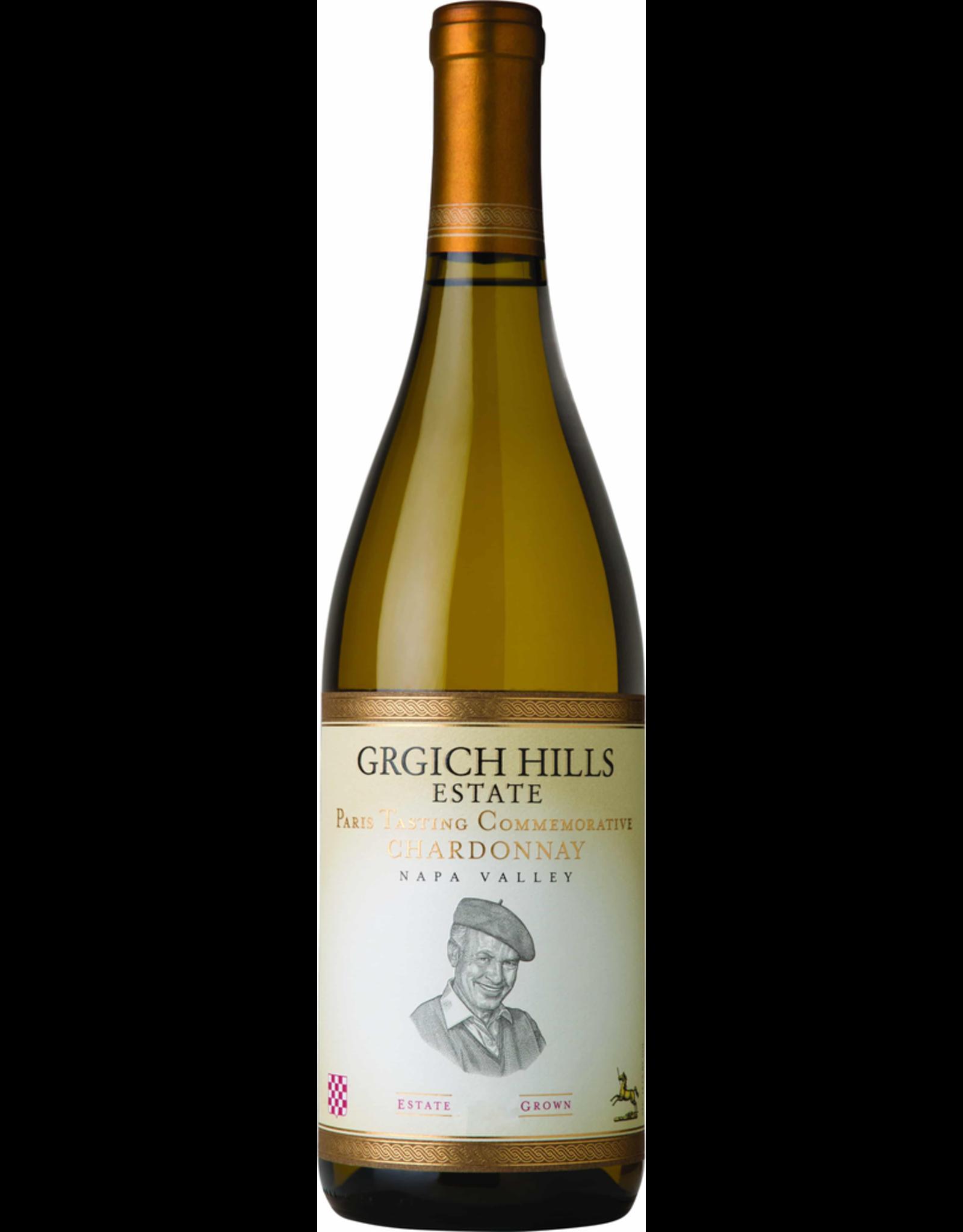 White Wine 2014, Grgich Hills Estate Paris Tasing Commemorative, Chardonnay, Napa Valley, Central Coast, California, USA, 14.1 Alc, CT95, TW95