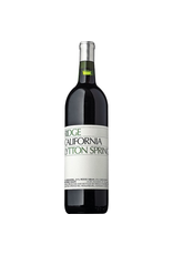 Red Wine 2017, Ridge Lytton Springs Vineyard, Red Blend, Dry Creek Valley, Sonoma County, California, 14.8% Alc, CT90.7