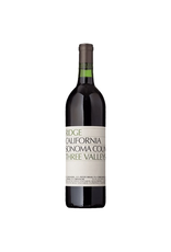 Red Wine 2018, Ridge Three Valleys Vineyard, Red Blend, Multi AVA, Sonoma County, California, 14.5% Alc, CT88