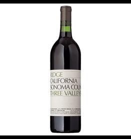 Red Wine 2018, Ridge Three Valleys Vineyard, Red Blend