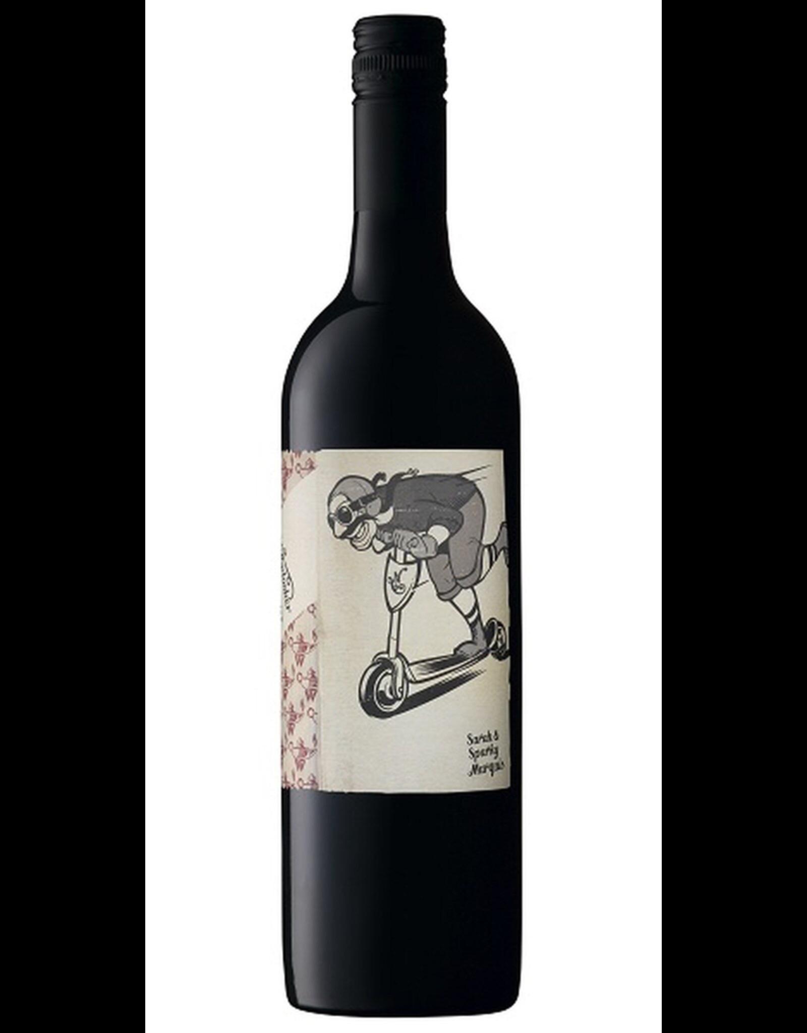 Red Wine Molly Dooker The Scooter, Merlot, McLaren Vale, South Australia, Australia, 17% Alc, CTnr