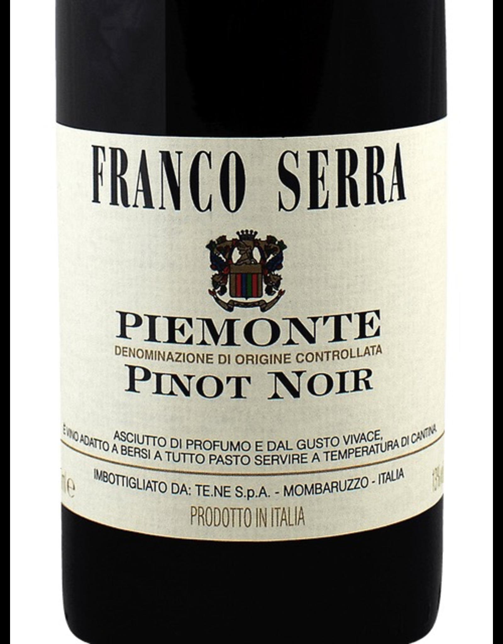 Red Wine 2017, Franco Serra, Pinot Noir, Mombaruzzo, Piemonte, Italy, 13% Alc, CTnr