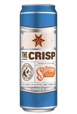 Beer Sixpoint Brewery, Pilsner, Beer, Brooklyn, USA, 5.4% Alc, 12 oz. Can