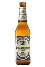 Beer Weihenstephaner, Heffe Weissbier, Beer, Germany, 5.4% Alc, 11.2 oz. Glass Bottle