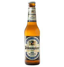 Beer Weihenstephaner, Heffe Weissbier, Germany
