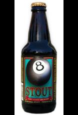 Beer Lost Coast Brewery, 8 Ball Stout, Eureka, California, USA, 5.8% Alc., 12 oz. Glass Bottle