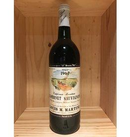 Red Wine 1967, Louis M Martini, Cabernet Sauvignon