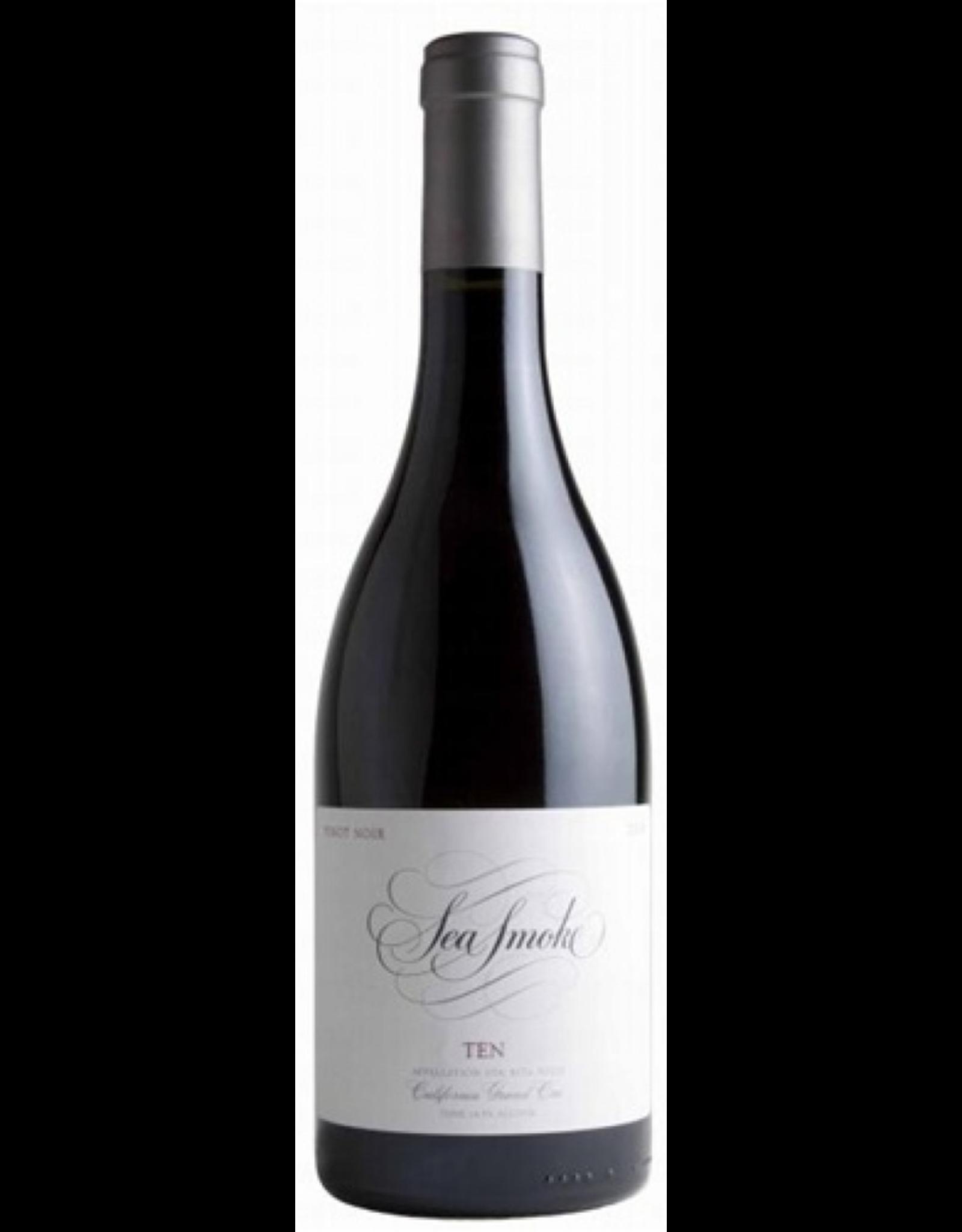 Red Wine 2014, Sea Smoke Ten, Pinot Noir, Sta. Rita Hills, Central Coast, California, 14.5% Alc, CT92