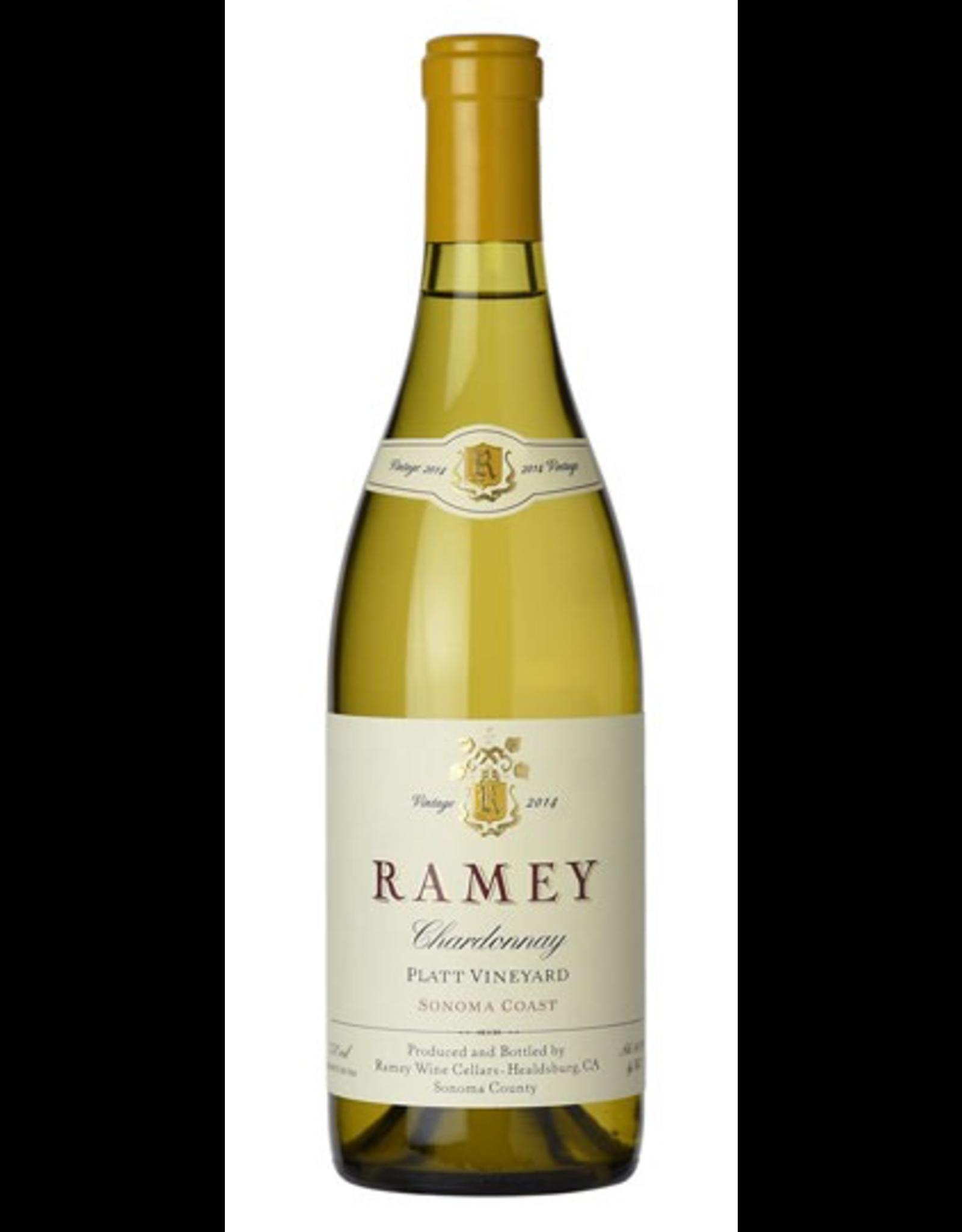 White Wine 2014, Ramey, Chardonnay, Pratt Vineyard, Sonoma Coast, California, 14.5% Alc, CT92.5 RP95