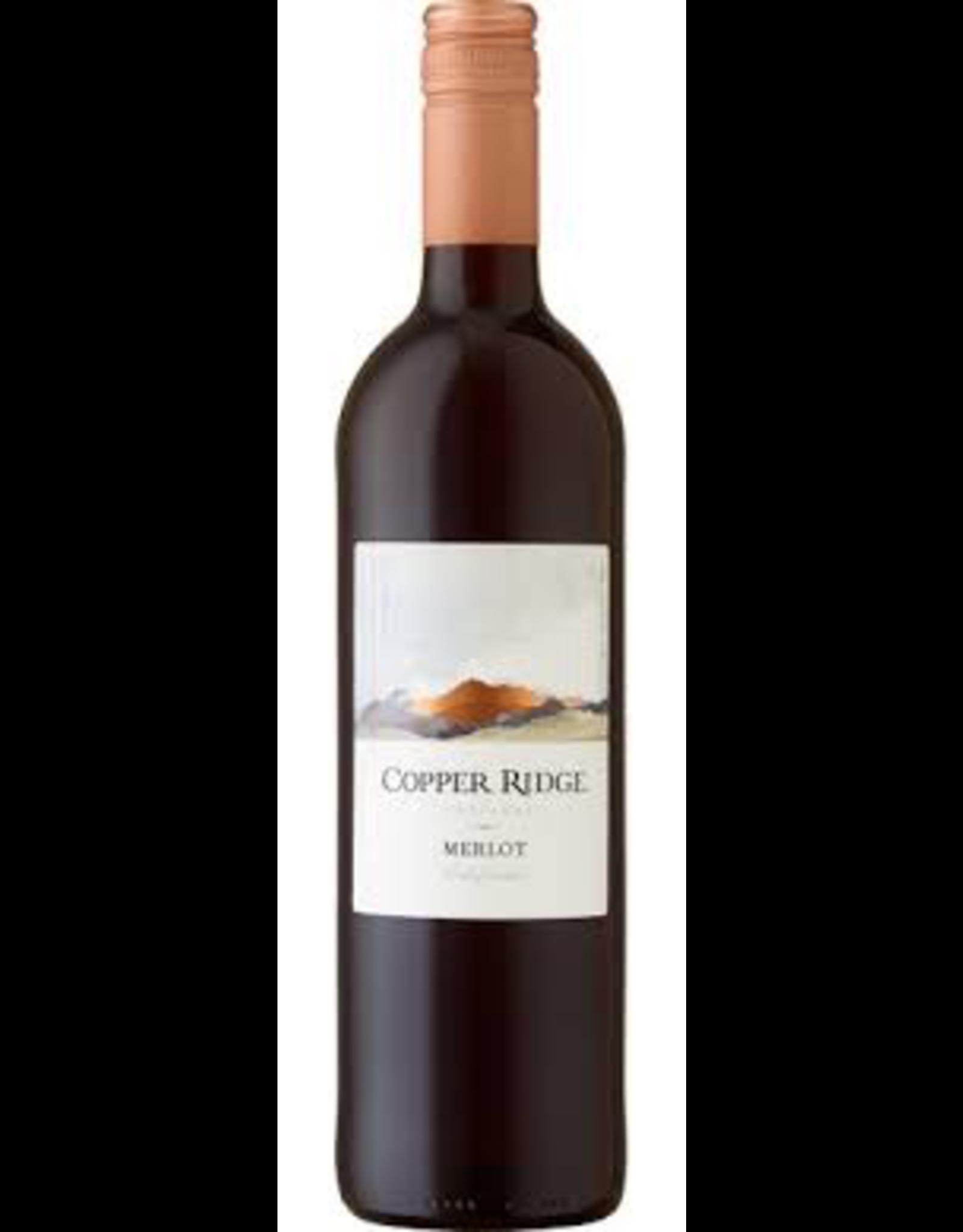 Red Wine NV, Copper Ridge Vineyards, Merlot, Multi-AVA, Napa, California, 12% Alc, CT