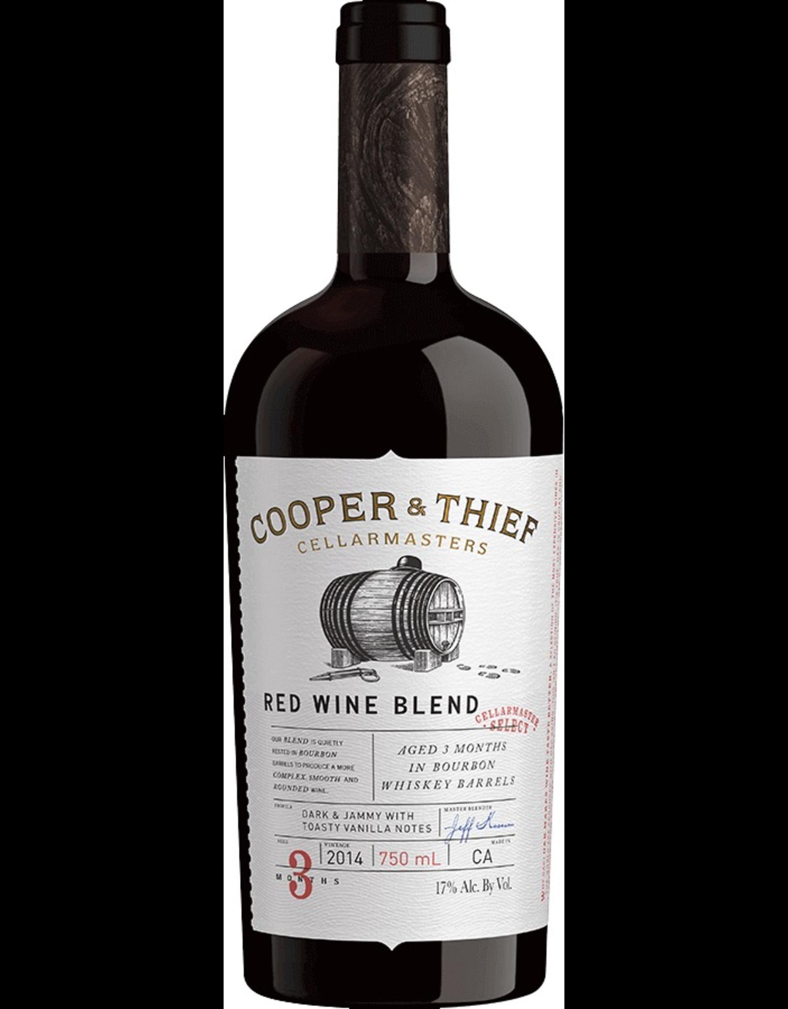 Red Wine 2017, Cooper & Thief Cellarmasters, Red Bourbon Barrel Blend, Lodi, California, 17% Alc, CT88, TW90