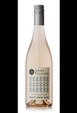 White Wine 2018, Amity Vineyards, White Pinot Noir Rose, Tualatin, Willamette Valley, Oregon, 13.9% Alc, CTnr, TW92