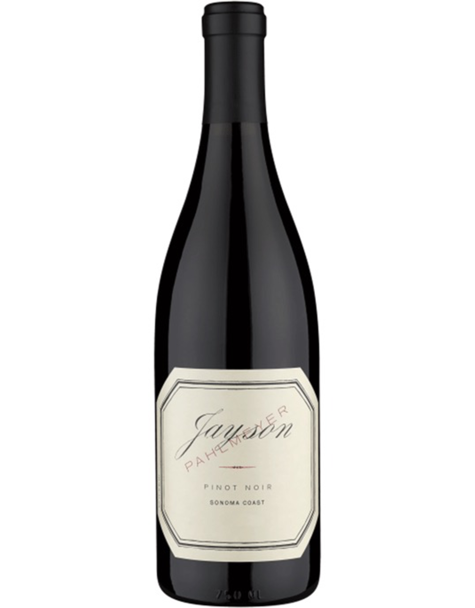 Red Wine 2014, Jayson by Pahlmeyer from Wayfarer Vineyard, Pinot Noir, Fort Ross Seaview, Sonoma County, California,14.5% Alc, CTnr, TW92
