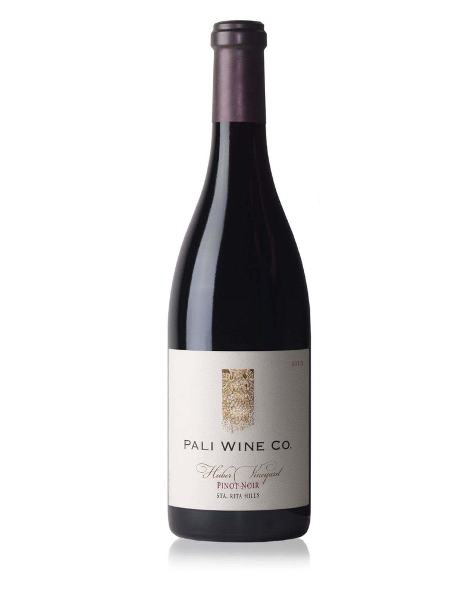Red Wine 2013, Pali Wine Co. Huber Vineyard, Pinot Noir, Sta. Rita Hills, Central Coast, California, 15.1% Alc, CT90, TW93
