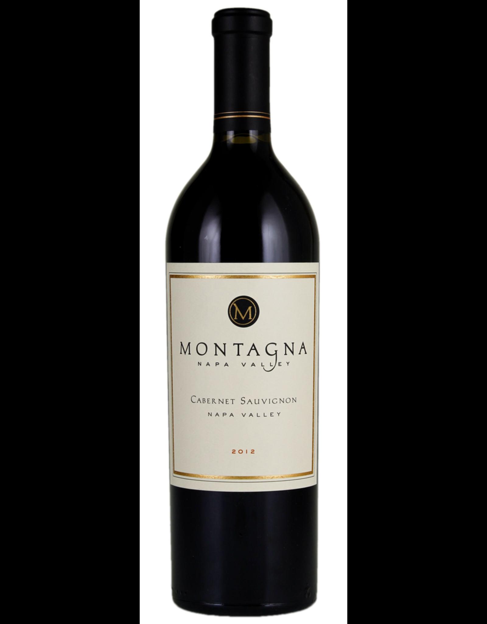 Red Wine 2012, Montagna, Cabernet Sauvignon, St. Helena, Napa Valley, California,14.9% Alc, CT94