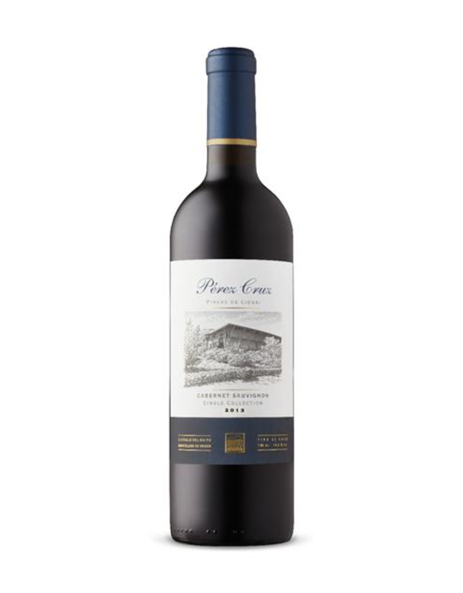 Red Wine 2012, Vina Perez Cruz Single Collection Pircas de Liguai, Cabernet Sauvignon, Maipo Andes, Maipo Valley, Chile, 14.5% Alc., CT86.5, TW93
