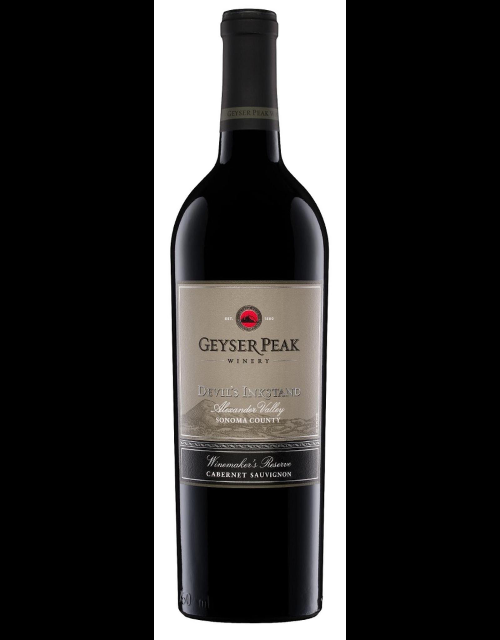 Red Wine 2012, Geyser Peak Devils Inkstand Reserve, Cabernet Sauvignon, Alexander Valley, Sonoma County, California, 14% Alc, CT87, TW90