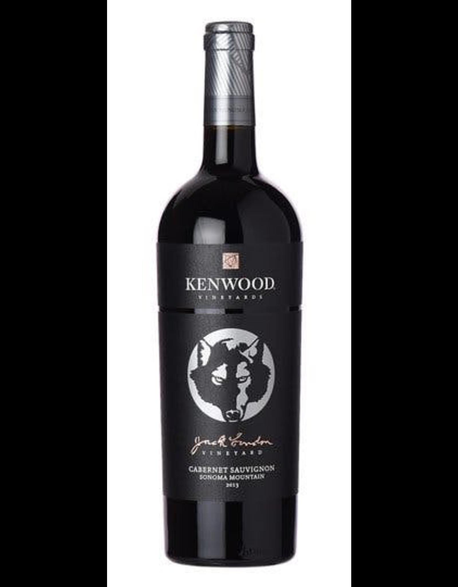 White Wine 2015, Kenwood Jack London, Cabernet Sauvignon, Sonoma Mountain, Sonoma, California, 14.5% Alc, CT