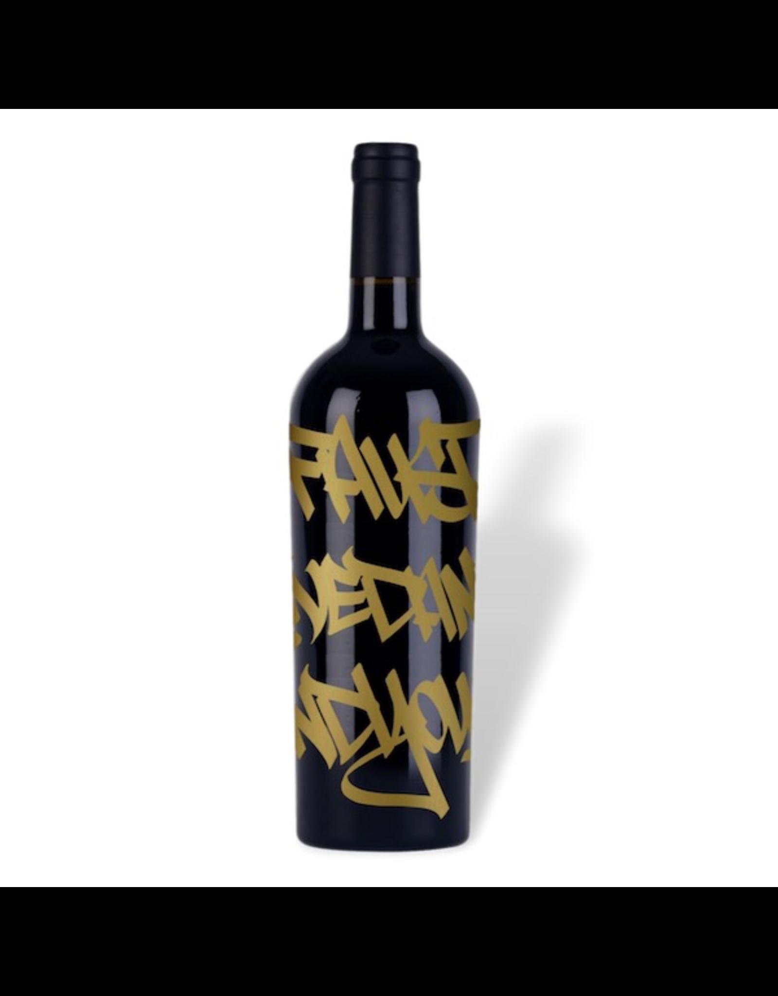 Red Wine 2015, 1.5L Faust Graffiti Limited Release, Cabernet Sauvignon, Napa Valley AVA, Napa, California, 14.9% Alc, CTnr