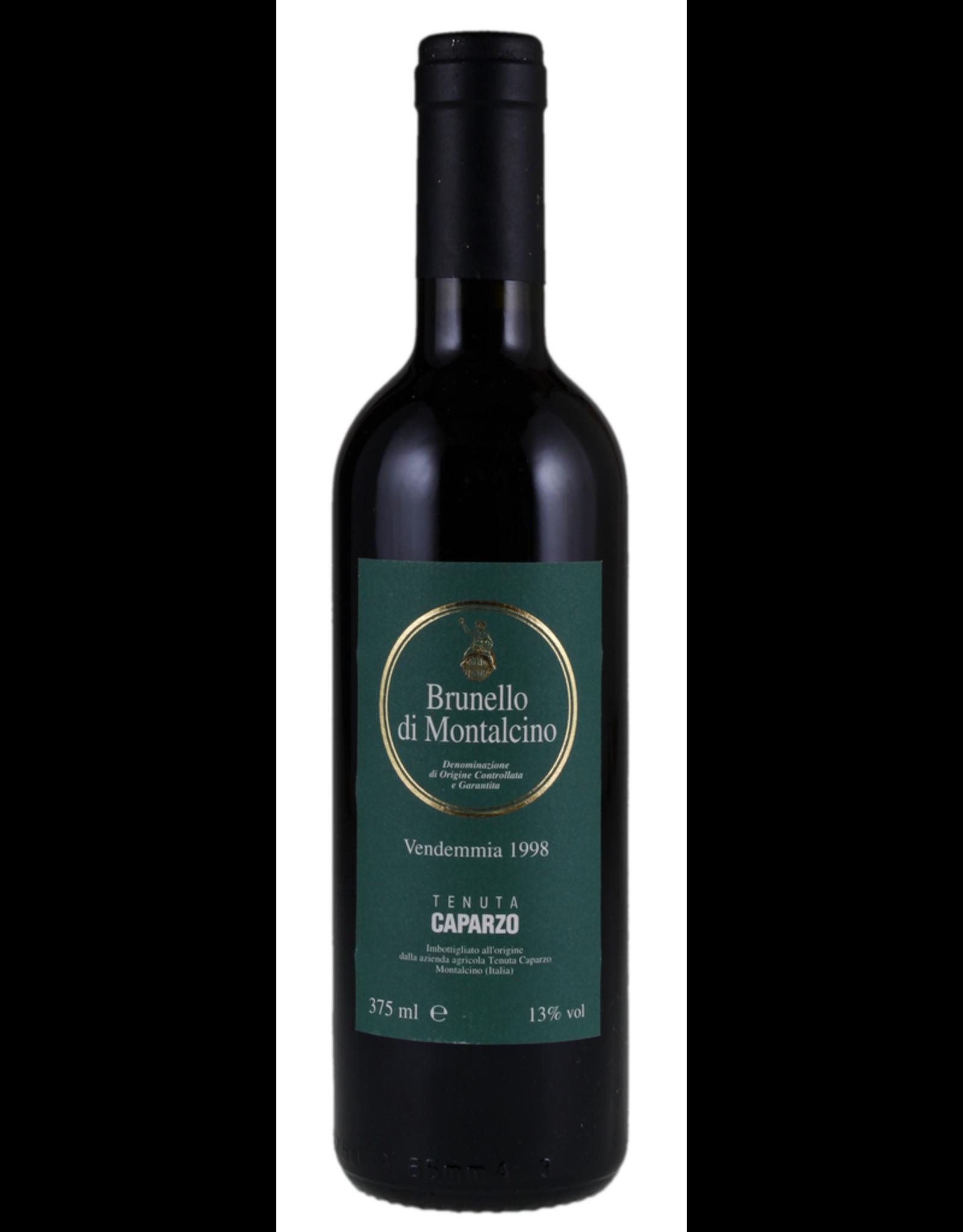Red Wine 1998, Caparzo Brunello di Montalcino, Sangiovese, Montalcino, Tuscany, Italy, 13% Alc, CTnr