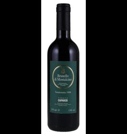 Red Wine 1998, Tenuta CAPARZO, Brunello
