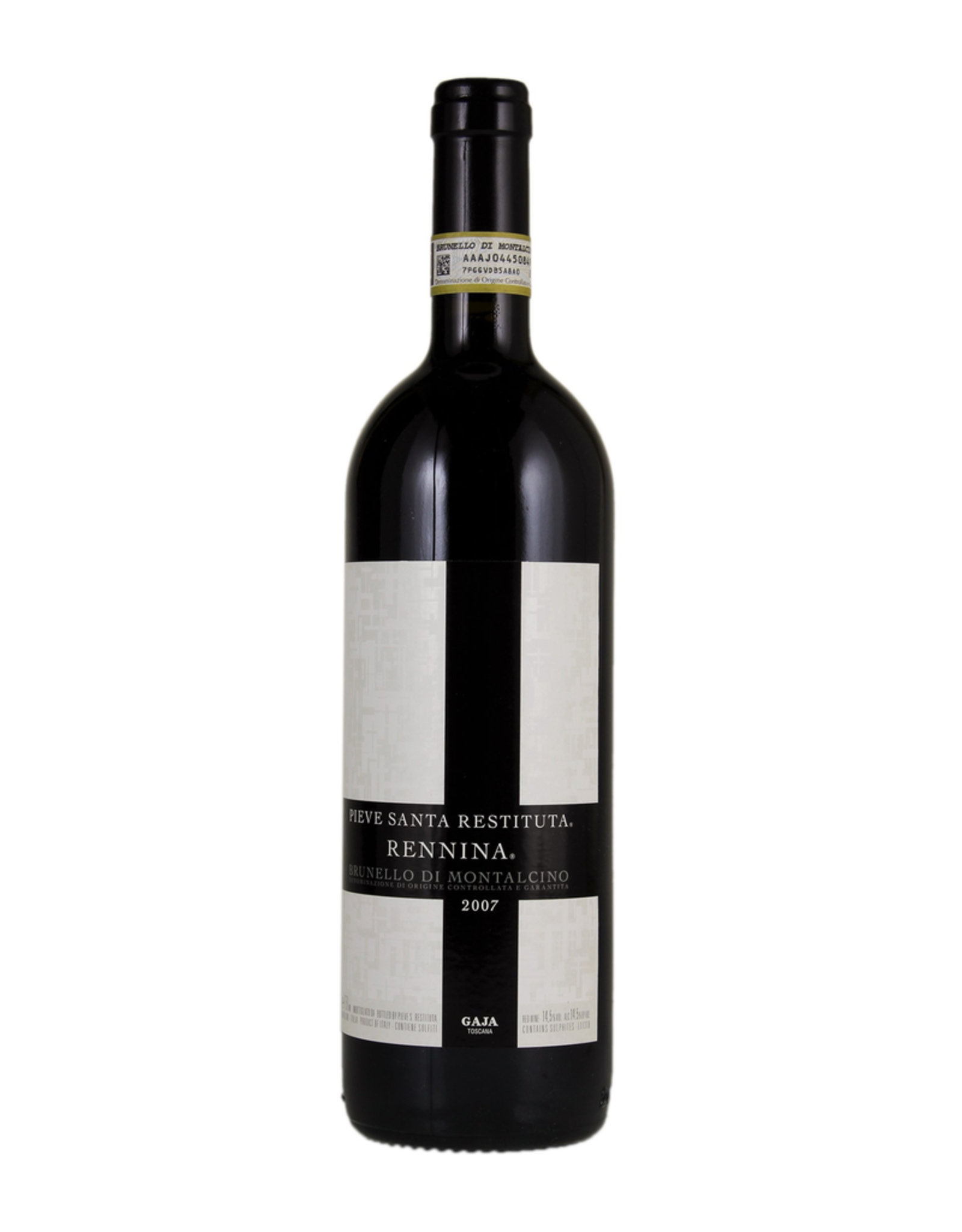 Red Wine 2007, Pieve Santa Restituta Rennina by Gaja, Sangiovese, Montalcino, Tuscany, Italy, 14% Alc, CT92.6
