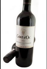 Red Wine 2014, Cadet d'Oc by Baron Philipe de Rothschild, Cabernet Sauvignon, Pays D'OC, Languedoc Roussillon, Sud De France, 13% Alc, CTnr, TW92