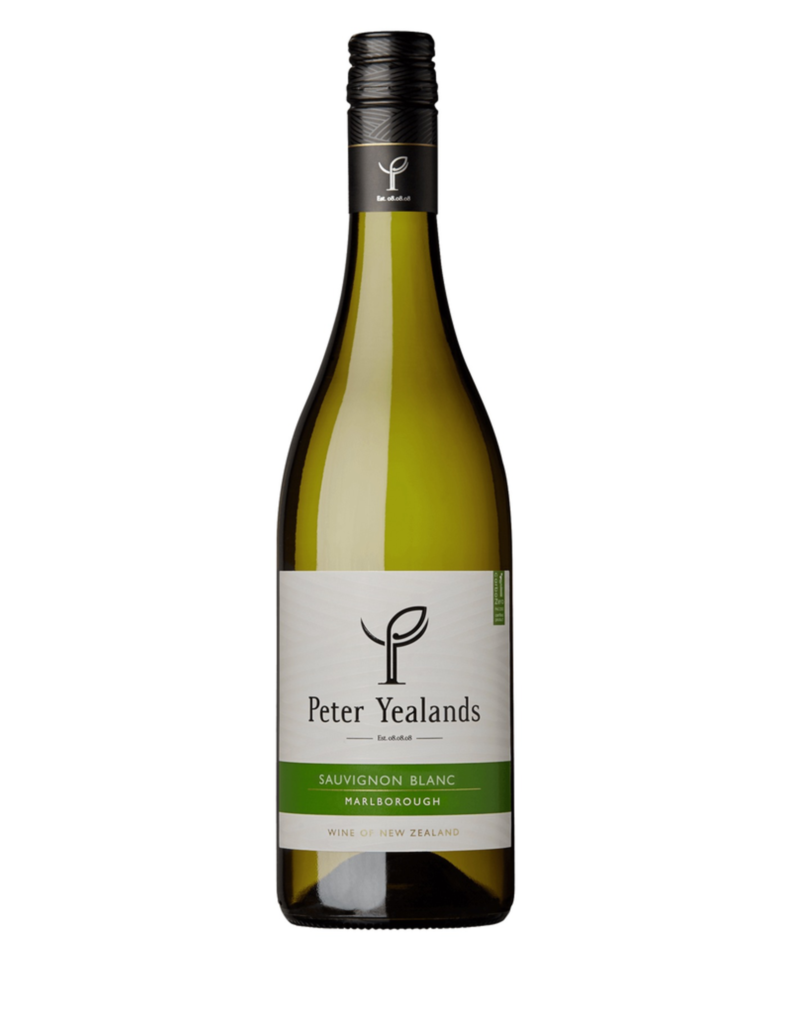 White Wine 2018, Peter Yealands, Sauvignon Blanc, Malborough, South Island, New Zealand, 12.5% Alc, CTnr, TW89