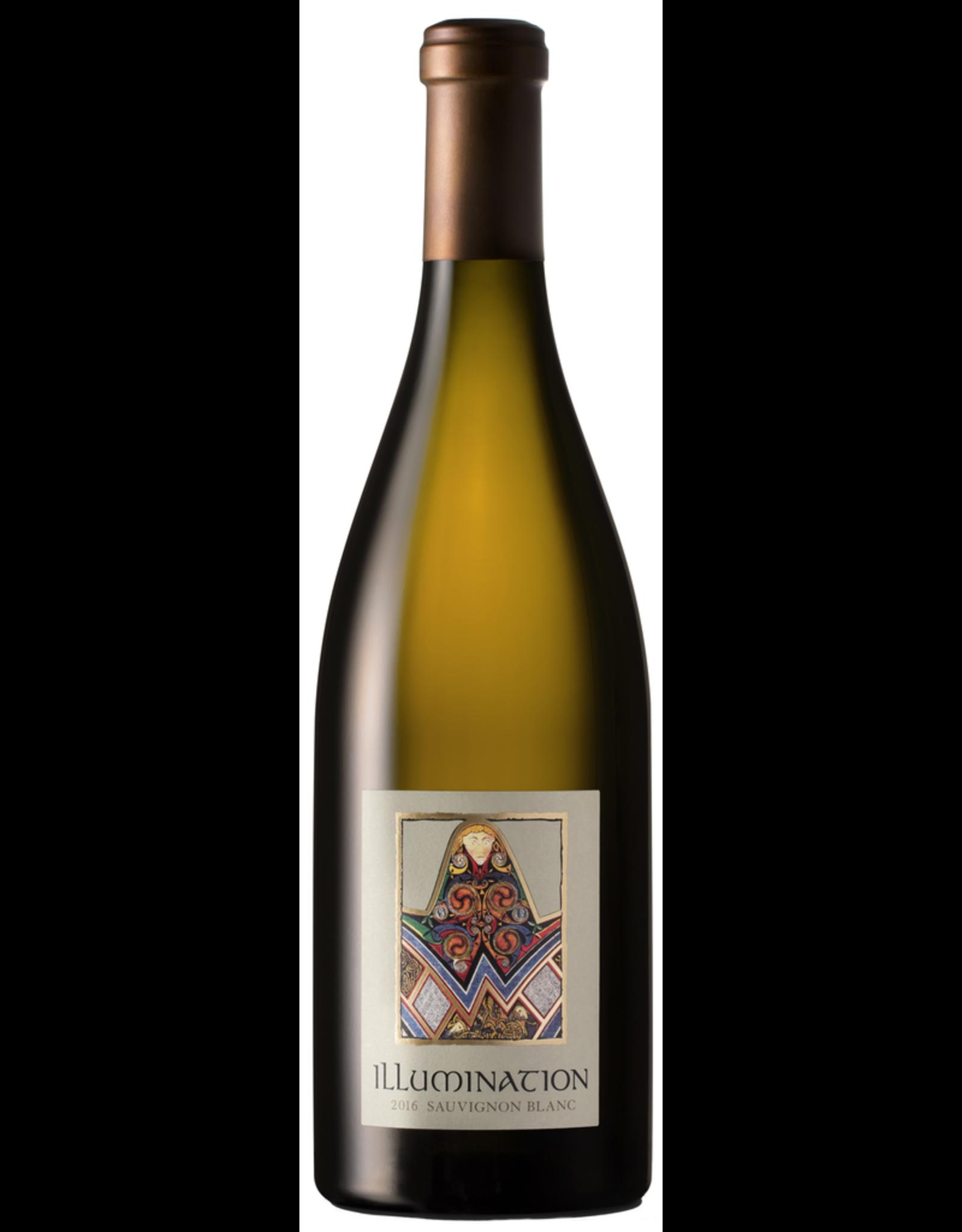 White Wine 2016, Illumination by Quintessa, Sauvignon Blanc, Multi-AVA, Napa/Sonoma, California, 14.2% Alc, CTnr, JS94