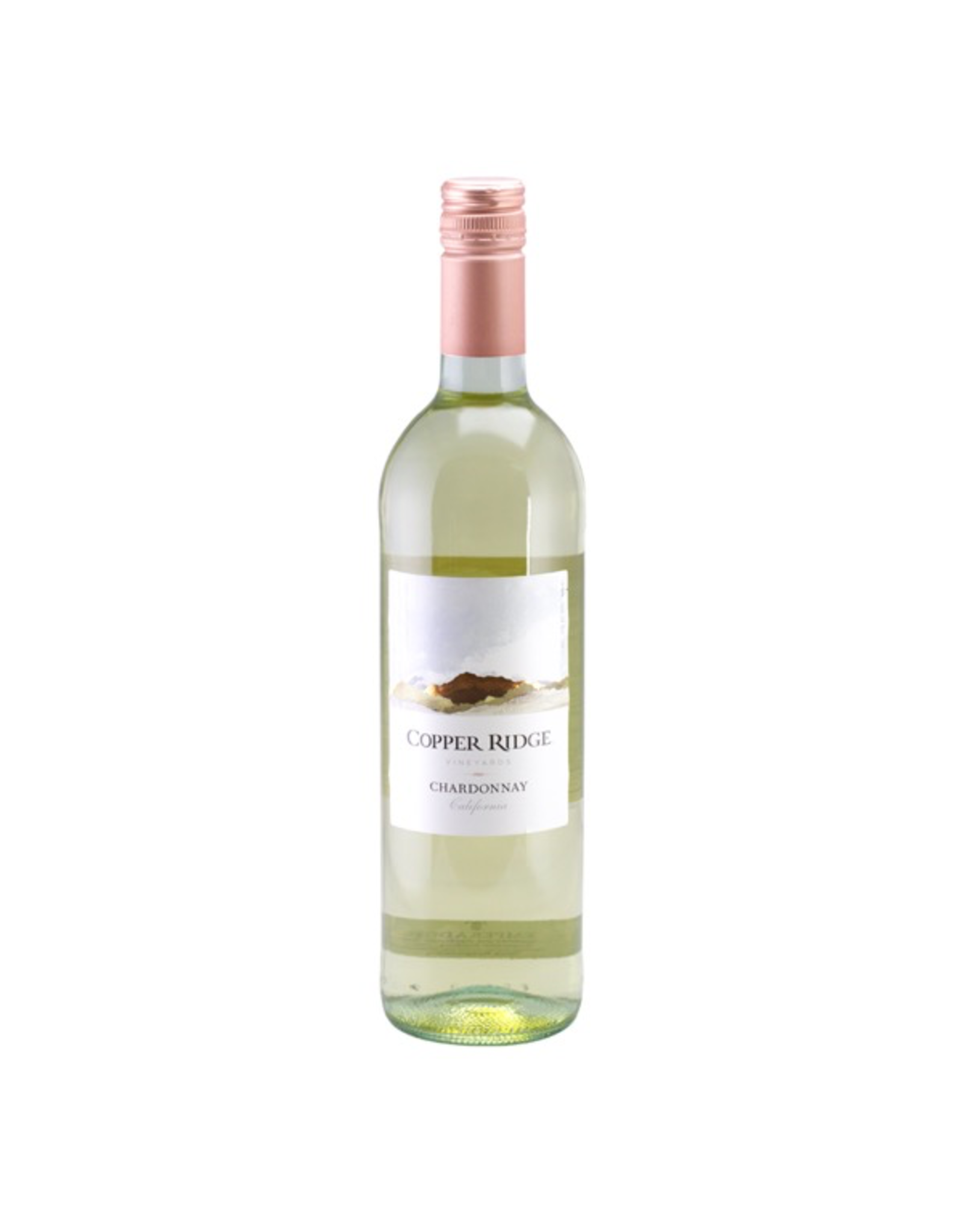 White Wine NV, Copper Ridge Vineyards, Chardonnay, Multi-AVA, Napa, California, 12% Alc, CT83