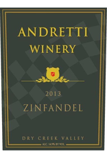 Red Wine 2013, Andretti Winery, Zinfandel, Dry Creek Valley, Sonoma County, California, 14.7% Alc, CT91, TW93