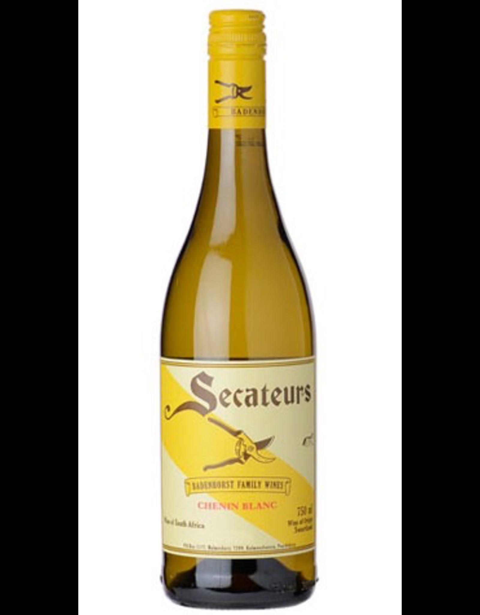 White Wine 2017, A.A. Badenhorst Family Wines Secateurs, Chenin Blanc, Swartland, Coastal Region, South Africa, 13.5% Alc, CT88, TW92