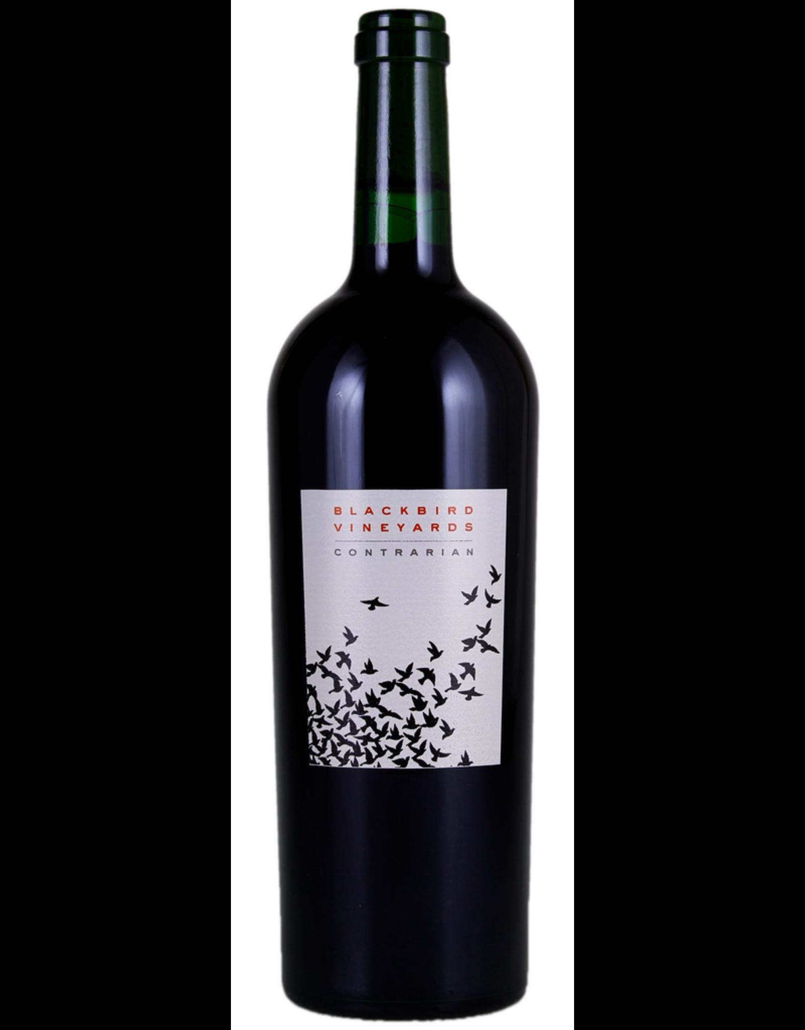 Red Wine 2014, Blackbird Vineyards Contrarian, Red Bordeaux Blend, Oak Knoll, Napa Valley, California, 14% Alc, CTnr