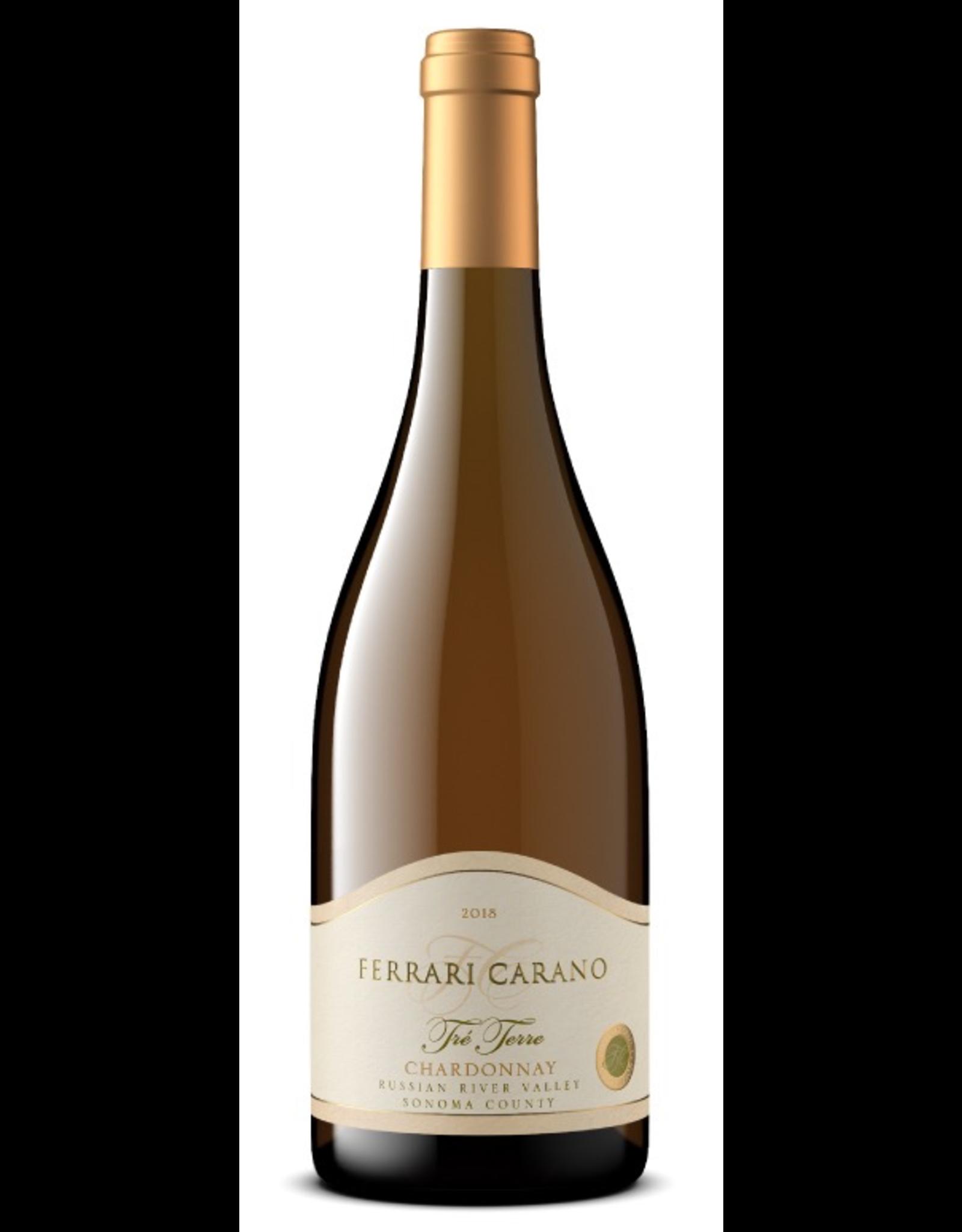 White Wine 2017, Ferrari Carano Tre Terre, Chardonnay, Russian River Valley, Sonoma County, California, 14.1% Alc, CTnr, TW92