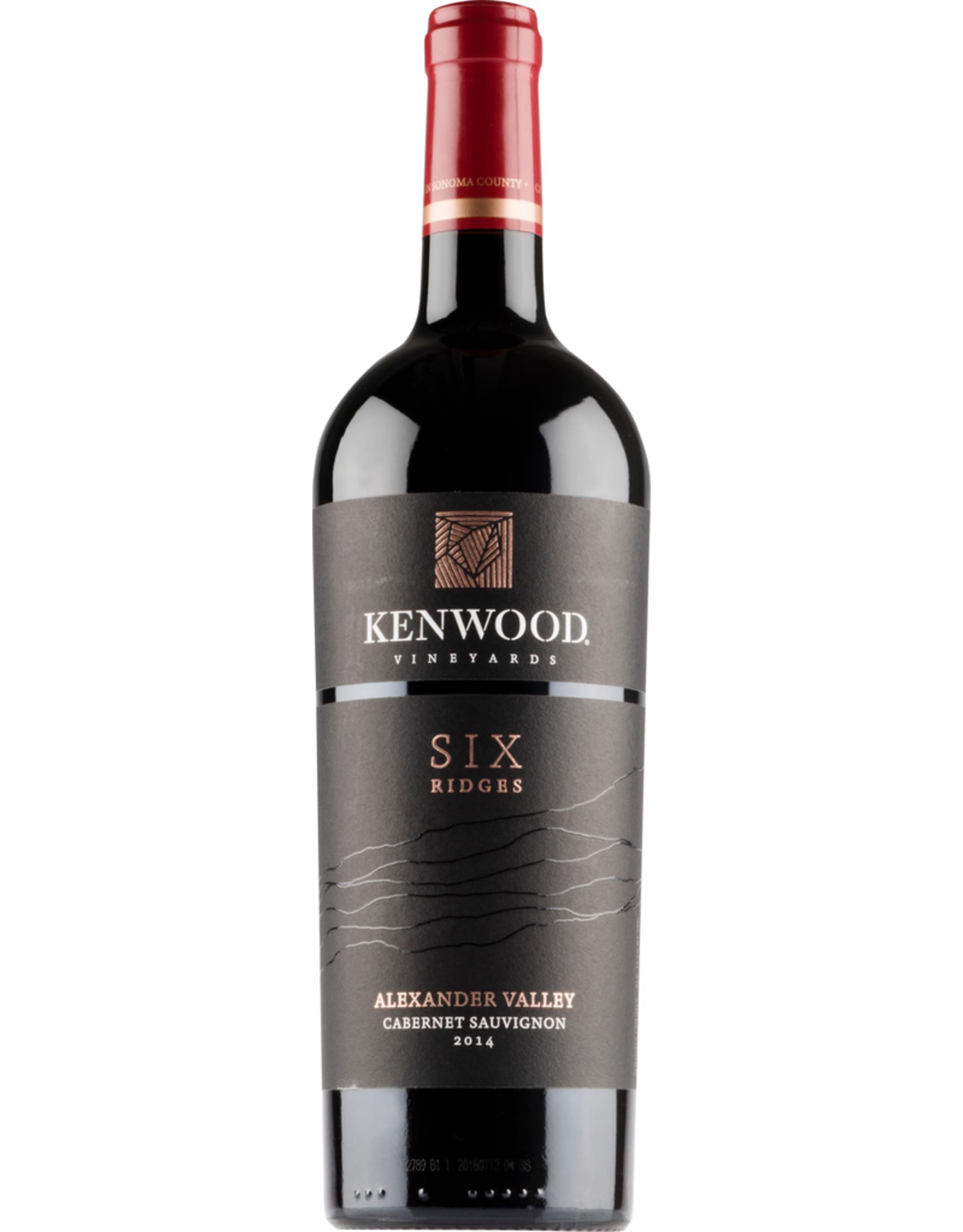 White Wine 2017, Kenwood Six Ridges, Cabernet Sauvignon, Alexander Valley, Sonoma, California, 14.5% Alc, CTnr, TW92