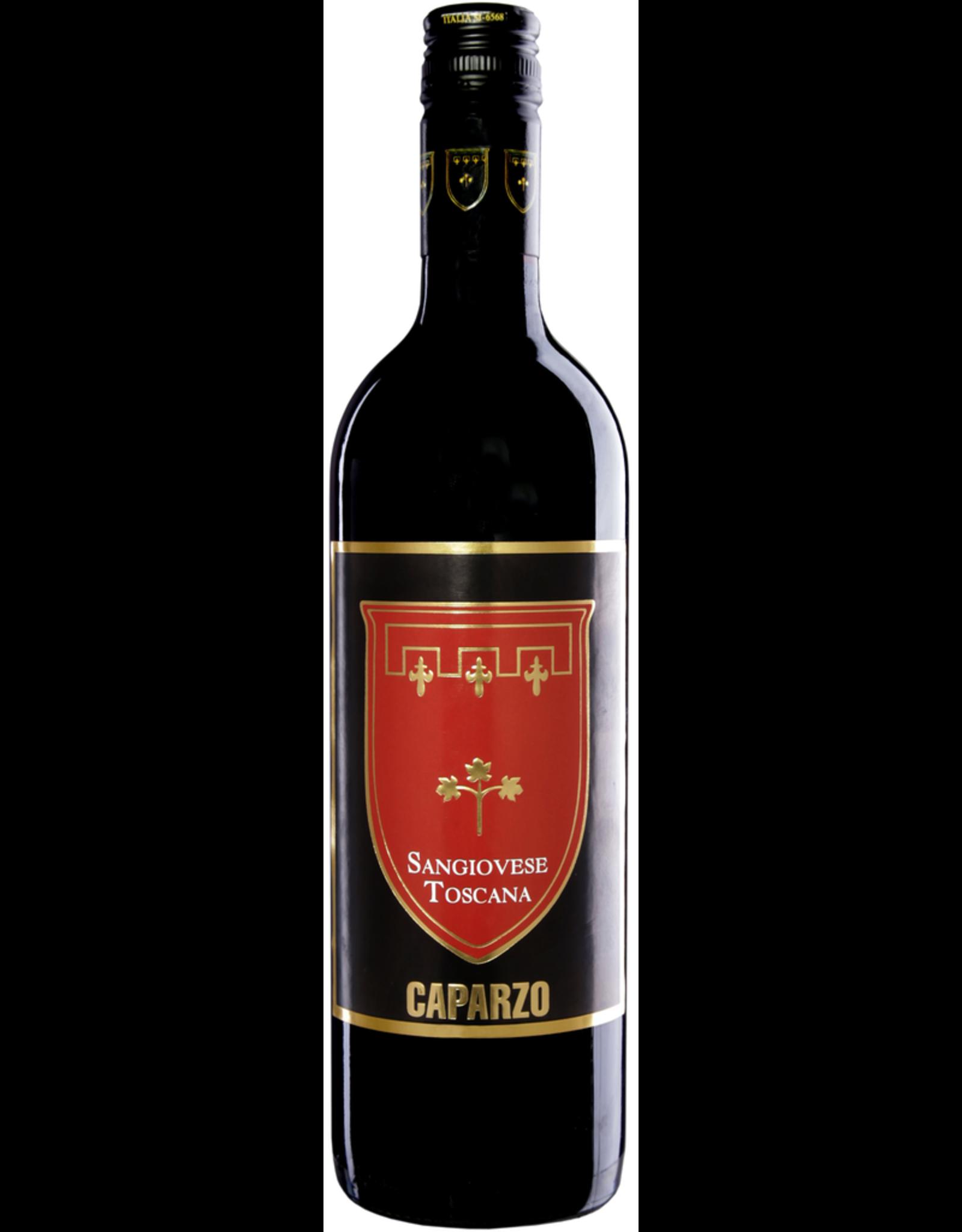 Red Wine 2018, Caparzo Sangiovese, Chianti, Tuscany, Italy, 14.5% Alc, CTnr