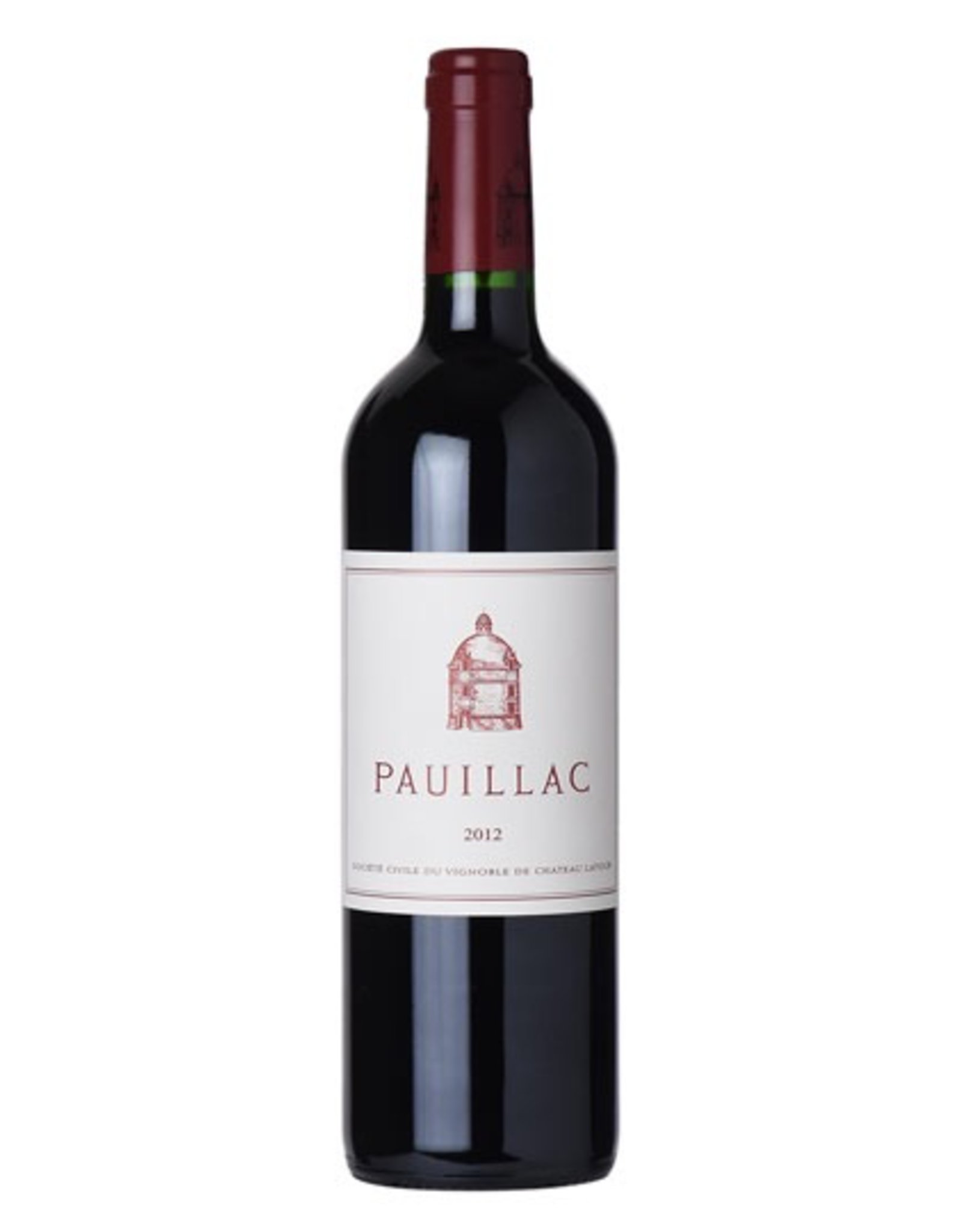 Red Wine 2012, Pauillac de Latour 1st Growth 3rd Grand Cru, Red Bordeaux Blend, Pauillac, Bordeaux, France, 14% Alc, CT90.6