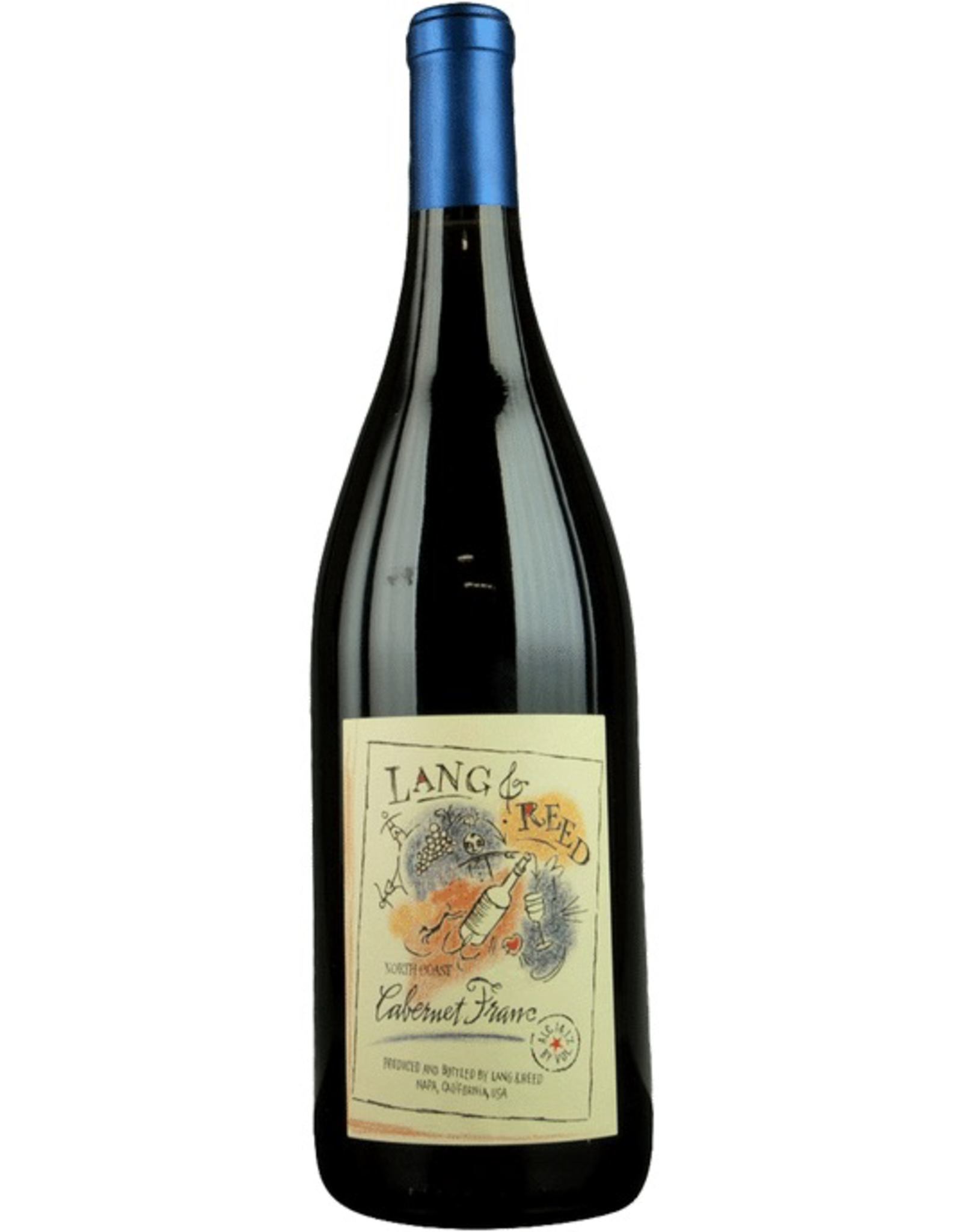 Red Wine 2016, Lang & Reed North Coast, Cabernet Franc, Napa Valley, Napa, California, 14.1% Alc, CTnr