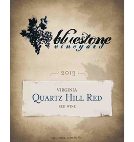 Red Wine 2013, Bluestone, Quartz Hill Red