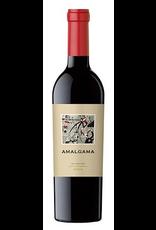 Red Wine 2013, Amalgama by Lagar De Bezana, 70% Cabernet 30% Syrah Blend, Cachapoal Valley, Rapel Valley, Chile, 14% Alc, CTnr, TW90