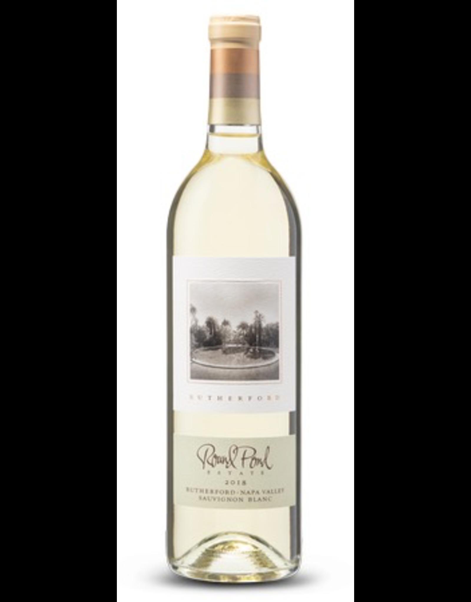 White Wine 2018, Round Pond Estate, Sauvignon Blanc, Rutherford, Napa Valley, California, 14% Alc, CTnr, JS91
