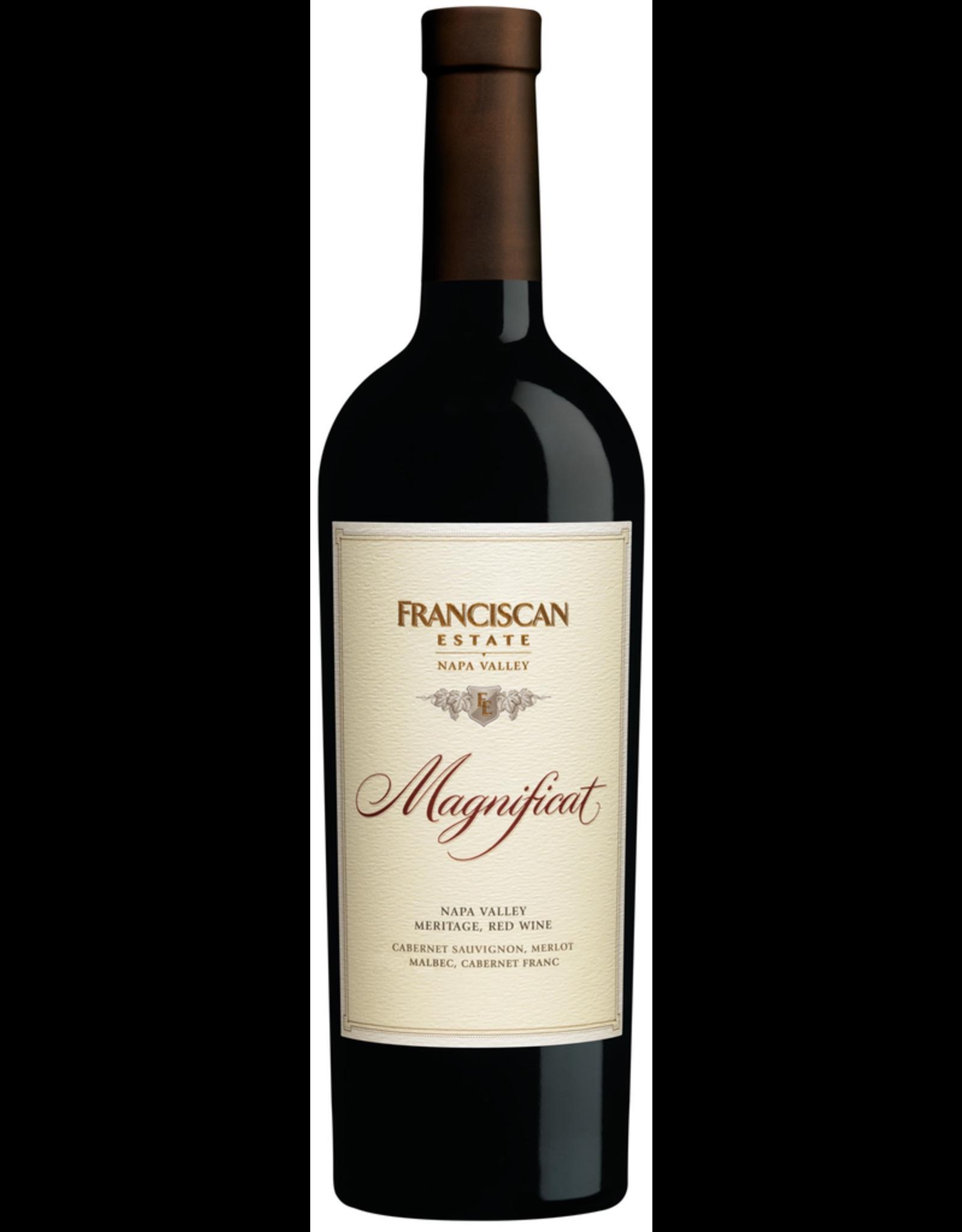 Red Wine 2014, Franciscan Magnificat, Bordeaux Blend, Oakville, Napa, California, 14.5% Alc, CTnr, TW94