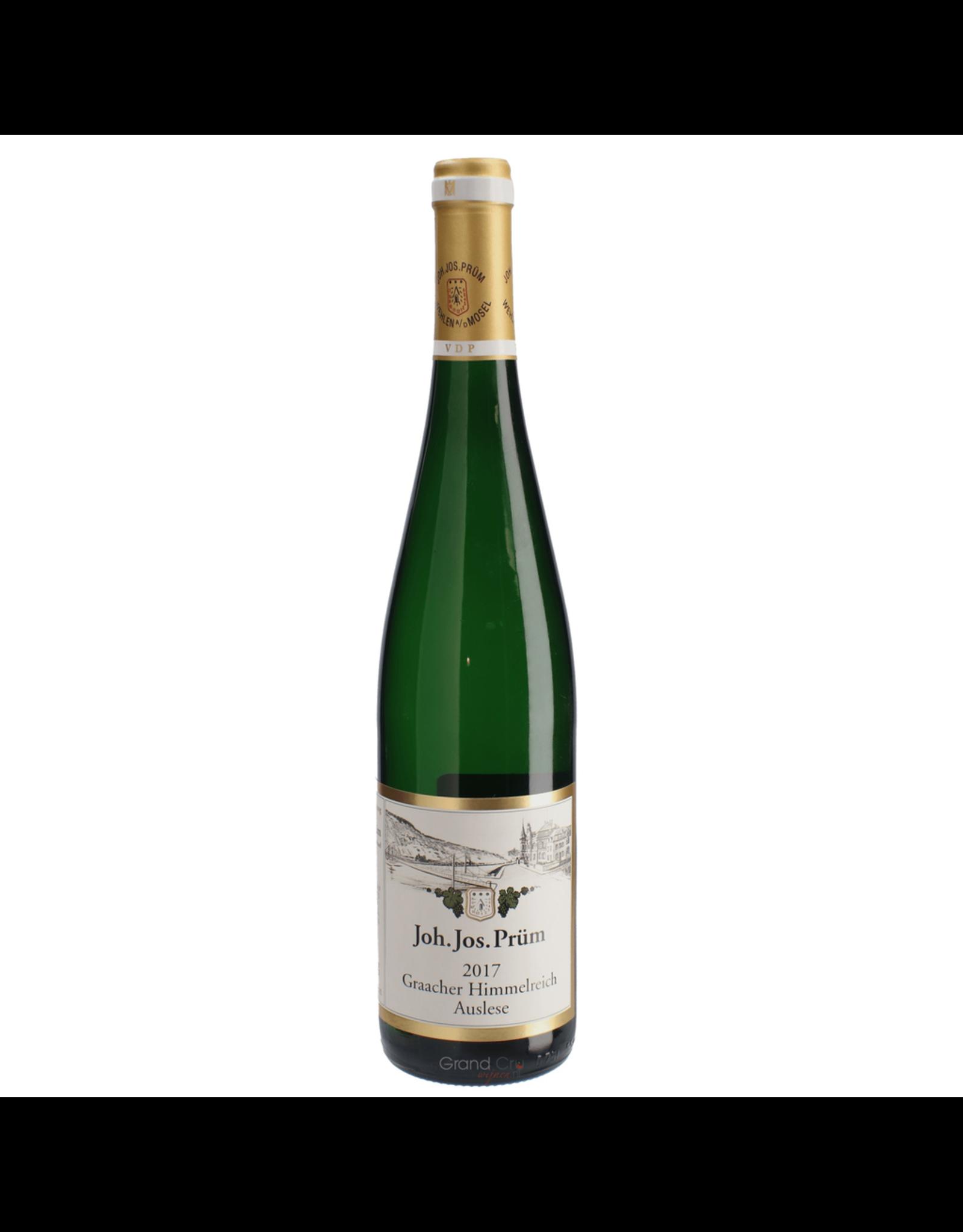 White Wine 2017, Joh. Jos. Prum Gaacher Himmelreich GOLD CAP 750ml Auslese, Riesling, Gaacher Himmelreich, Mosel, Germany, 7.5% Alc, CT93 WE96