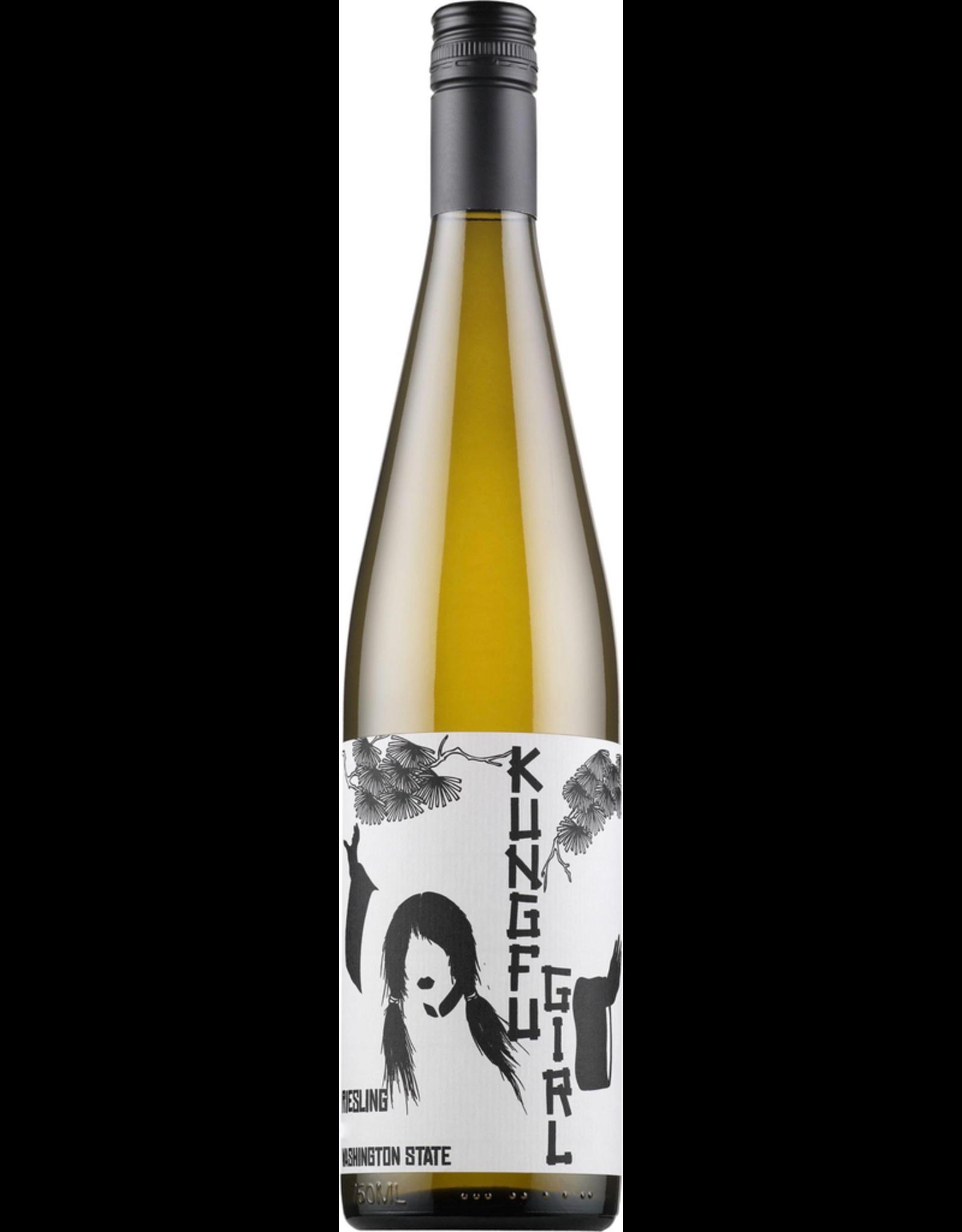 White Wine 2016, Charles Smith Kung Fu Girl, Riesling, Multi-regional Blend, Mattawa, Washington, USA, 12% Alc, CTnr WS89, TW89