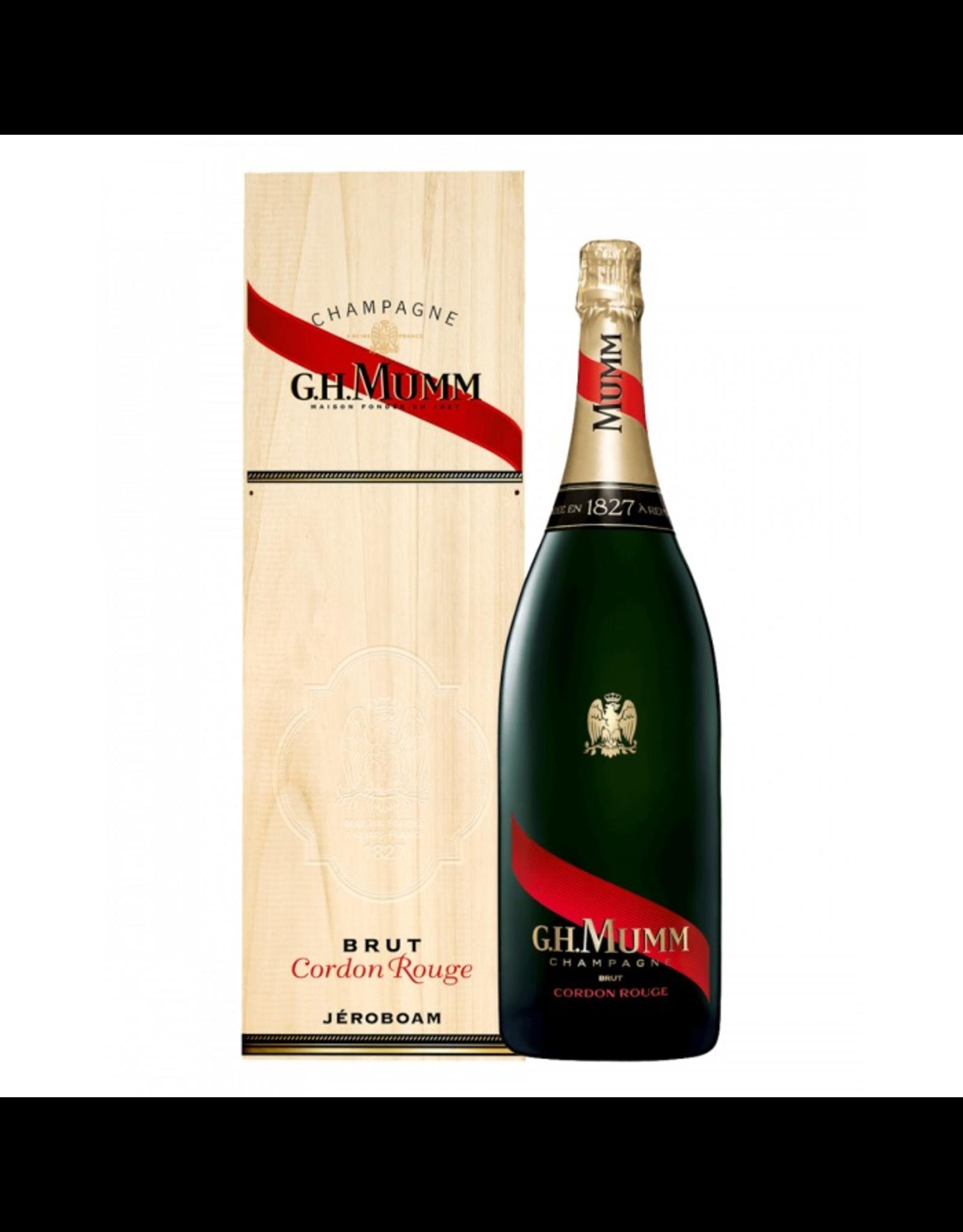 Sparkling Wine NV, G.H. Mumm Cordon Rouge Brut 3 Liter Doubble-Magnum Jeroboam, Champagne, Reims, Champage, France, 12% Alc, CT89