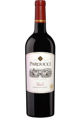 Red Wine 2017, 375ml Parducci Small Lot, Merlot, Mendocino AVA, Mendocino County, California, 14.5% Alc, CTnr, TW89
