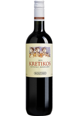 Red Wine 2018, Kretikos by Boutari & Son, Red Kostifali Mandilaria Blend, Chania, Crete, Greece, 12% Alc, CTnr