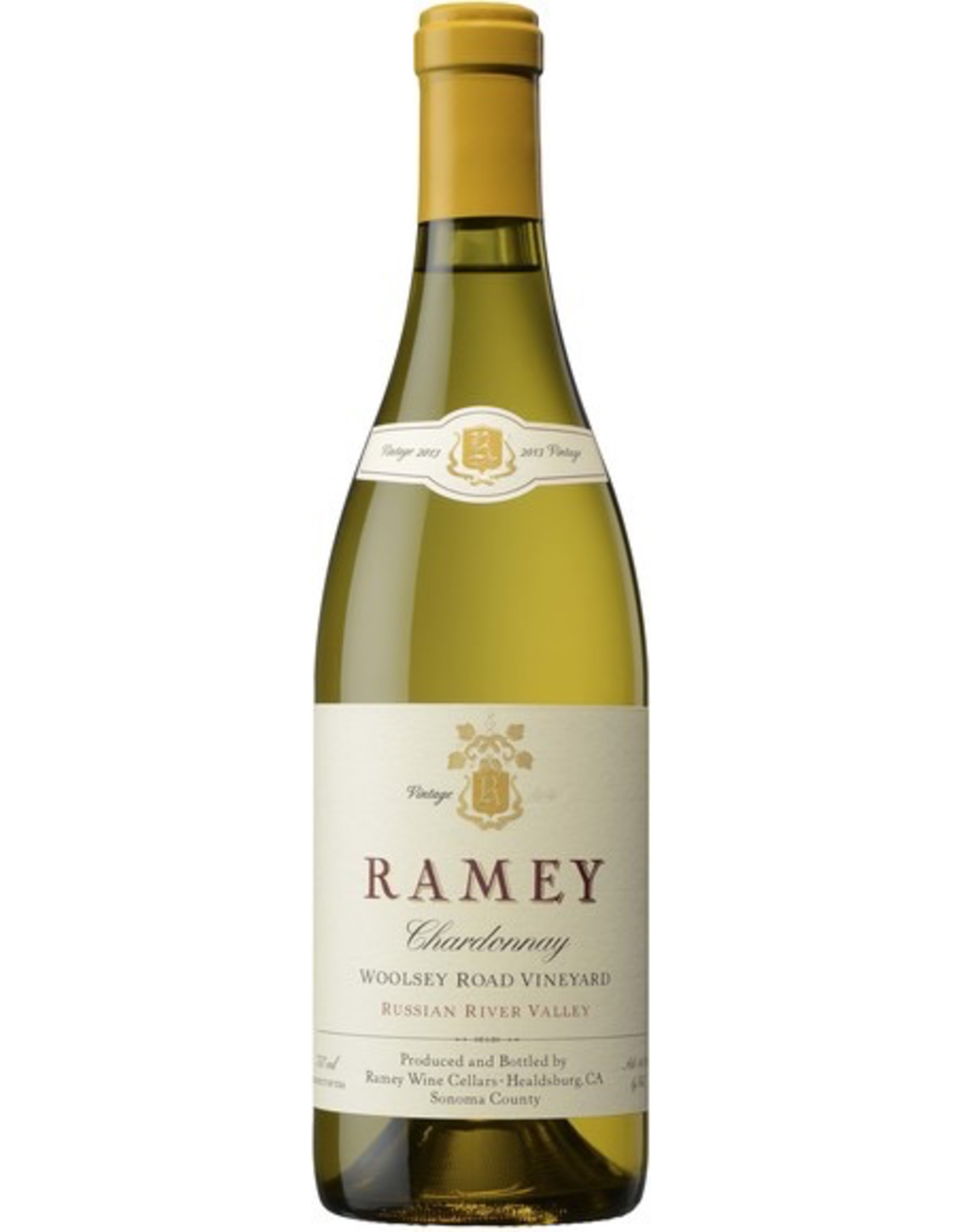 White Wine 2014, Ramey Woolsey Road Vineyard, Chardonnay, Russian River, Sonoma Coast, California, 14.5% Alc, CT92.5 RP95
