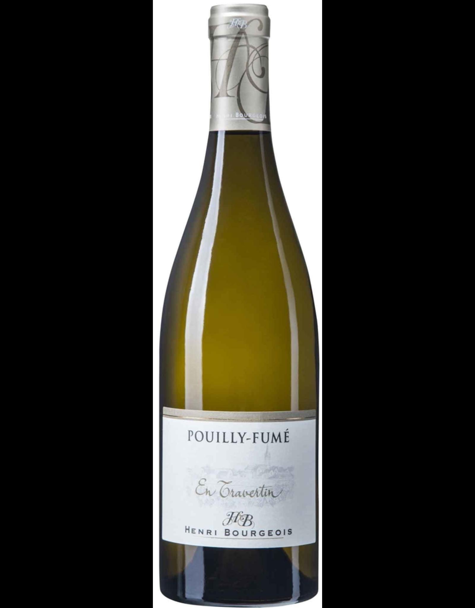 White Wine 2018, Henri Bourgeois En Travertin Pouilly-Fume, Sauvignon Blanc, Pouilly-Fume, Loire Valley, France, 13% Alc, CTnr, TW92