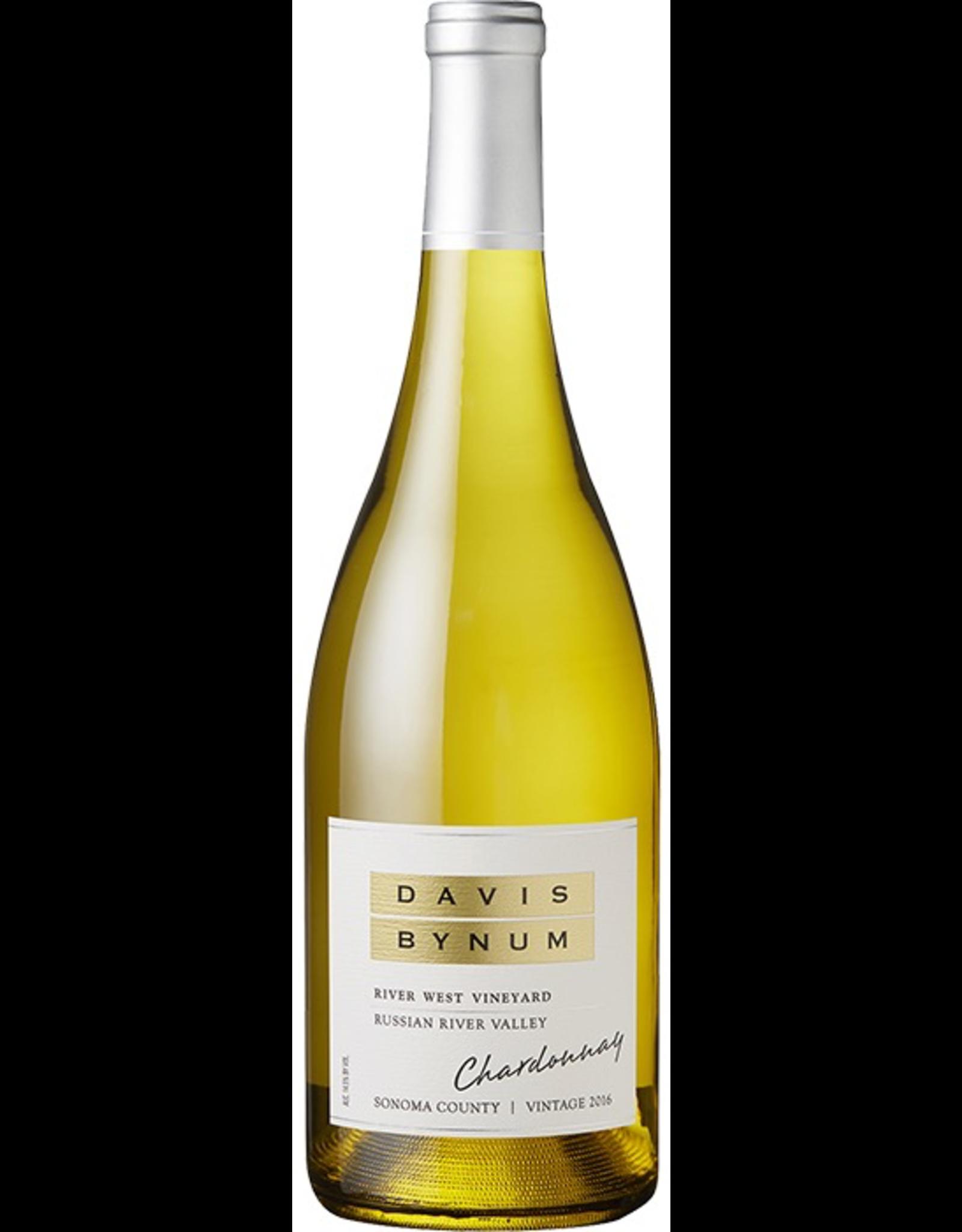 White Wine 2016, Davis Bynum River West Vineyard, Chardonnay, Russian River, Sonoma, California, USA, 14.5% Alc, CT